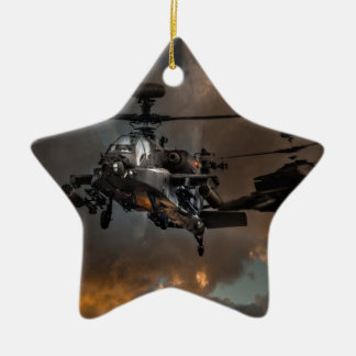 Apache Storm Ceramic Ornament