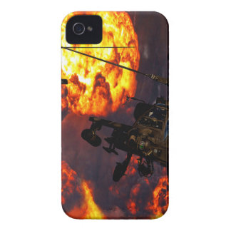 Apache Storm Fire iPhone 4 Cover