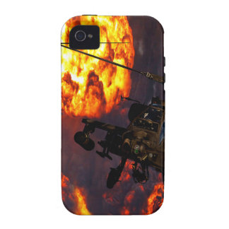 Apache Storm Fire iPhone 4 Covers