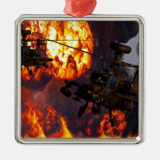 Apache Storm Fire Metal Ornament