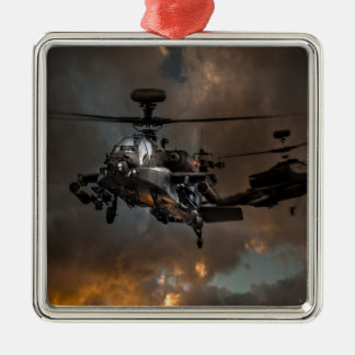 Apache Storm Metal Ornament