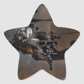 Apache Storm Star Sticker