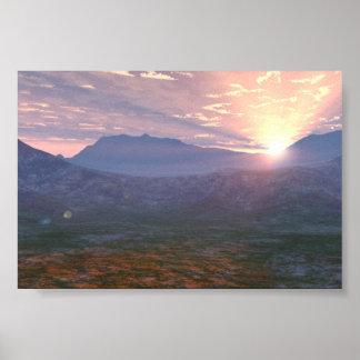 Apache Sunrise Posters