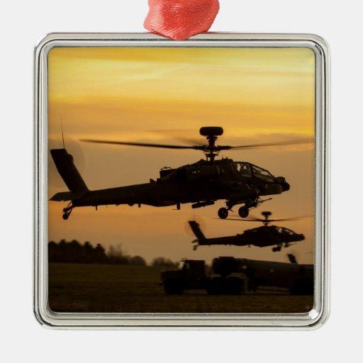 Apache sunset ornaments