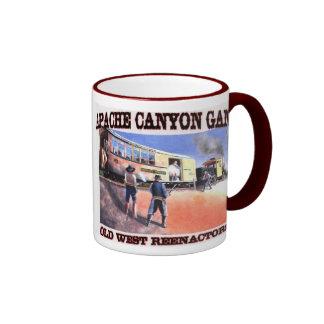 apache taza de dos colores