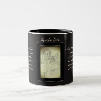 Apache Tear Crystal Fairy Two-Tone Coffee Mug