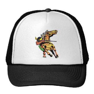 Apache Trail #1, Native American on Horseback Trucker Hat