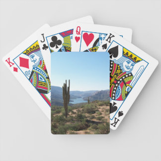 Apache Trail by Ann Finster Bicycle Playing Cards
