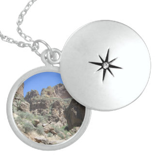 Apache Trail View Sterling Silver Necklace
