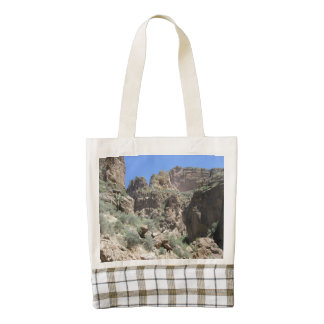 Apache Trail View Zazzle HEART Tote Bag