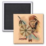 Apache Warrior 2 Inch Square Magnet
