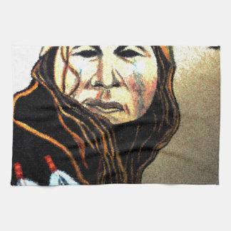 Apache Warrior Hand Towels