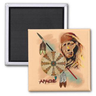 Apache Warrior Magnet