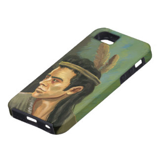 Apache Warrior Portrait  iPhone 5 Cases