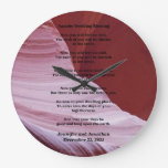 Apache Wedding Blessing Canyon Photo Clock Custom