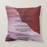 Apache Wedding Blessing Canyon Photo Custom Pillow