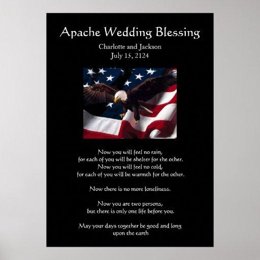 Apache Wedding Blessing: Apache Wedding Blessing Eagle 2 Poster