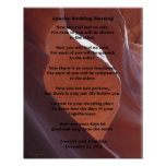 "Apache Wedding Blessing Poster 11"" x 14"" Matte"