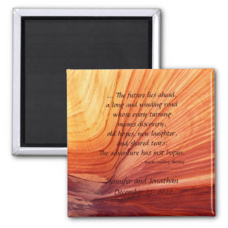 Apache Wedding Blessing Southwest Square Magnet