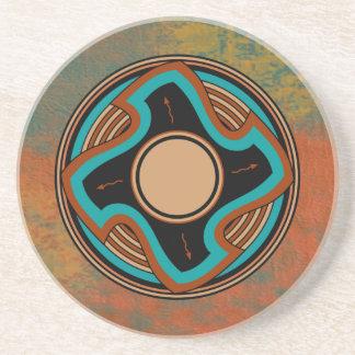 Apache Winds Drink Coaster