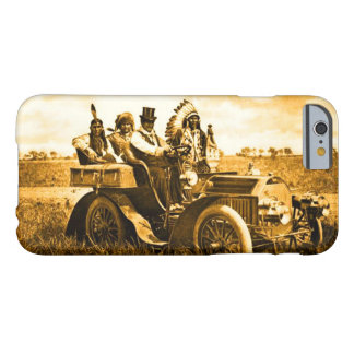 APACHES AND GERONIMO DRIVING A MOTOR CAR BARELY THERE iPhone 6 CASE
