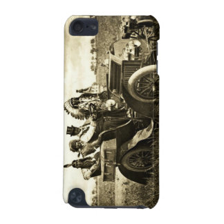 APACHES AND GERONIMO DRIVING A MOTOR CAR iPod TOUCH (5TH GENERATION) COVERS