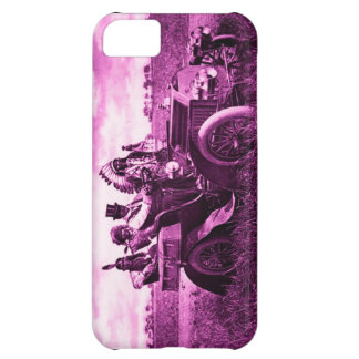 APACHES AND GERONIMO DRIVING A MOTOR CAR iPhone 5C COVER