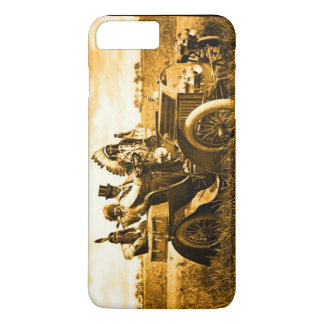 APACHES AND GERONIMO DRIVING A MOTOR CAR iPhone 7 PLUS CASE