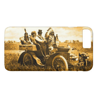 APACHES AND GERONIMO DRIVING A MOTOR CAR iPhone 8 PLUS/7 PLUS CASE