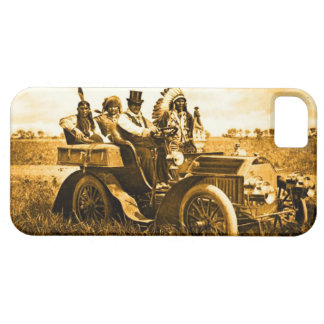 APACHES AND GERONIMO DRIVING A MOTOR CAR iPhone SE/5/5s CASE
