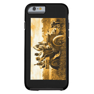 APACHES AND GERONIMO DRIVING A MOTOR CAR iPhone 6 CASE