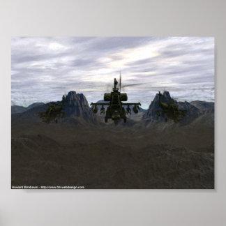 Apaches en el vagabundeo póster