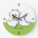 Apagado-Correo Art™ de la hora del recreo de Westi Reloj