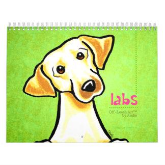 Apagado-Correo Art™ vol. 1 de los laboratorios de  Calendarios
