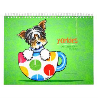 Apagado-Correo Art™ vol. 1 de los terrieres de Calendario