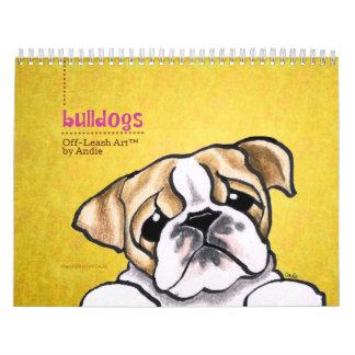 Apagado-Correo inglés Art™ vol. 1 de los dogos Calendarios