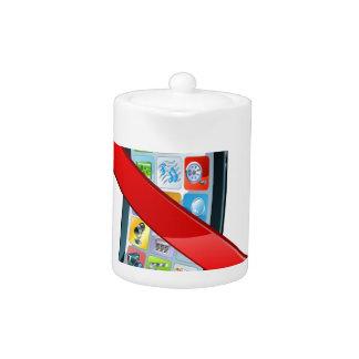 Apague la muestra de los teléfonos móviles