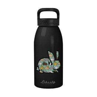 Apague su sed (para los conejitos) botella de agua reutilizable