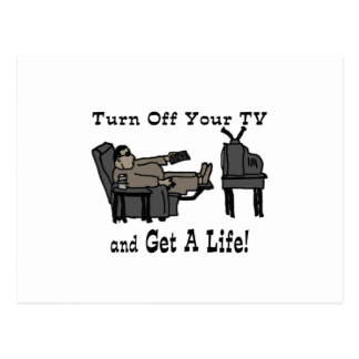 Apagúele TV y consiga una vida Postal