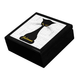 APAL: Black Cat Custom Jewelry Box
