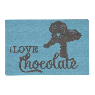 APAL - Chocolate Labrador   Dog Lovers Placemat