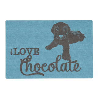 APAL - Chocolate Labrador | Dog Lovers Placemat
