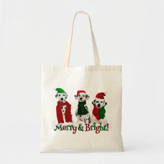 APAL - Christmas Dalmatian Dogs in the Snow Tote Bag