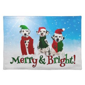 APAL - Christmas Dalmatian Dogs Place Mats
