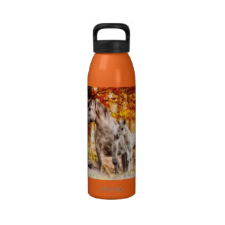 APAL - Primeros potros blancos como la nieve Botella De Agua
