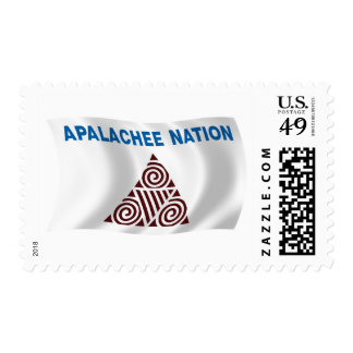 Apalachee Nation Flag Stamps