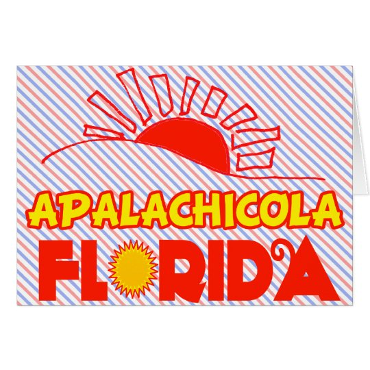 Apalachicola, Florida Card