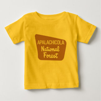 Apalachicola National Forest (Sign) Baby T-Shirt