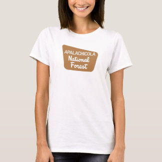 Apalachicola National Forest (Sign) T-Shirt