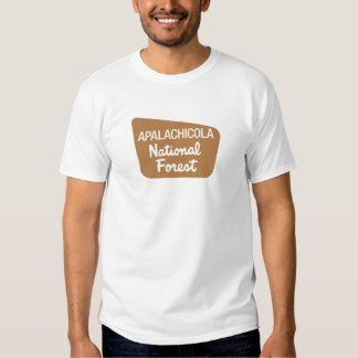 Apalachicola National Forest (Sign) Tee Shirt